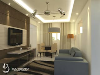 Modern Living Room by Lívio Bissonho Arquitetura Modern