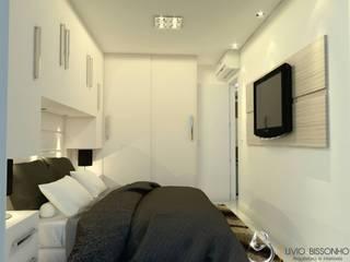 Modern Bedroom by Lívio Bissonho Arquitetura Modern