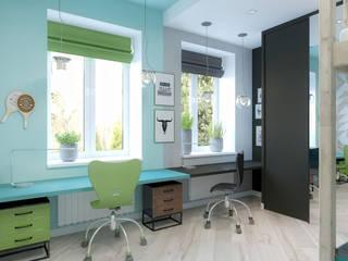 Квартира в ЖК Спасский мост: Детские комнаты в . Автор – Loft&Home