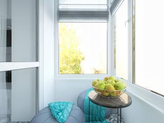 Квартира в ЖК Спасский мост: Tерраса в . Автор – Loft&Home
