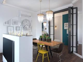 Квартира в ЖК Спасский мост: Гостиная в . Автор – Loft&Home
