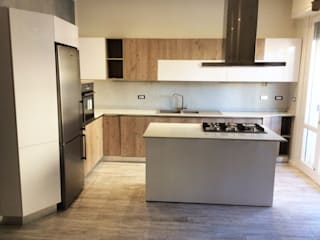 cARTE di Andrea Giannozzi Built-in kitchens Chipboard Brown