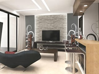 decoracion de sala:  de estilo  por planeacion y proyectos constructivos s.a de c.v.