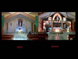Altar Jesucristo Resucitado de Concepto Arquitectónico Studio