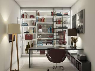 Escritórios: Escritórios  por Casa Studio 201