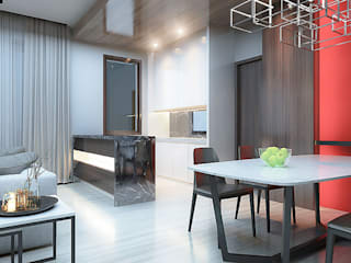 Minimalist kitchen by Vicasso Interior Minimalist