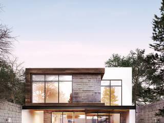 Residencia CS [León, Gto.] 3C Arquitectos S.A. de C.V. Casas modernas