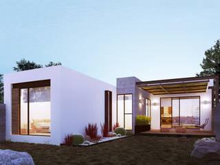 Residencia PC [León, Gto.] 3C Arquitectos S.A. de C.V. Casas modernas
