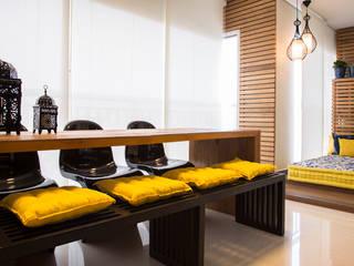 Apartamento ML: Terraços  por Maluf & Ferraz interiores,