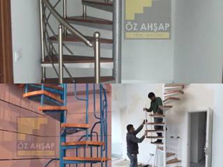 Ahşap merdiven yapımı 05322218302 ÖZ AHŞAP MERDİVEN Klasik