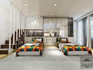 Kid's Bedroom Interior Design Kelapa Gading - Mediterania Oleh Multiline Design Modern