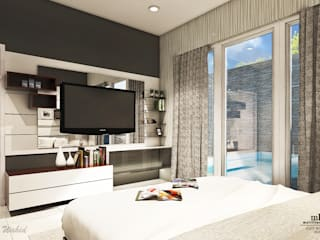 Minimalist bedroom by Multiline Design Minimalist