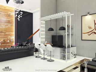 Living Room - Semarang Ruang Keluarga Minimalis Oleh Multiline Design Minimalis