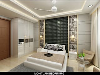 Residential Interior Modern style bedroom by UDC Interiors Modern