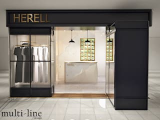 HNET Store Kantor & Toko Klasik Oleh Multiline Design Klasik