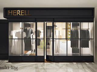 Herell Store - Mangga Dua Kantor & Toko Klasik Oleh Multiline Design Klasik
