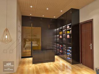 Quartos modernos por Multiline Design Moderno