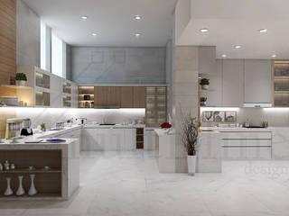 Kitchen - Selayar Pantai Indah Kapuk Oleh Multiline Design Minimalis