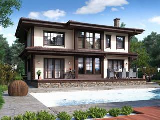 Casas de estilo minimalista de Naturi Minimalista
