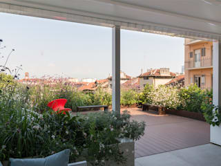 marta carraro 陽台、門廊與露臺 植物與花