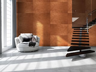 Metalegance Collection: Salas de estar  por Muratto | Cork Wall Design ,Moderno