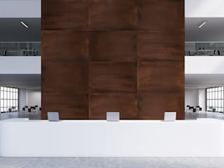 Oxid: Escritórios e Espaços de trabalho  por Muratto | Cork Wall Design