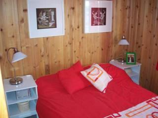 RUSTICASA 臥室 木頭 Wood effect