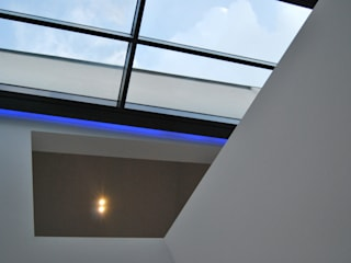 Architetkurbüro Schulz-Christofzik Modern Corridor, Hallway and Staircase