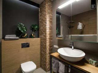 Ванная в стиле лофт от KODO projekty i realizacje wnętrz Лофт