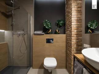 LIROWA: styl , w kategorii Łazienka zaprojektowany przez Pracownie Wnętrz Kodo