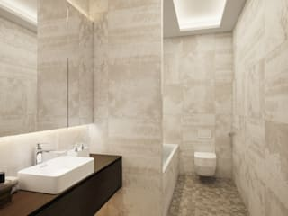House in Tomsk:  Bathroom by EVGENY BELYAEV DESIGN
