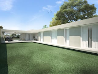 Detached home by MONTOZA | ESTUDIO, Minimalist