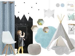 Dormitorios infantiles de estilo escandinavo de Catarina Semião Escandinavo
