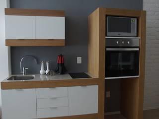 Departamento del Centro: Cocinas de estilo  por Alameda Estudio