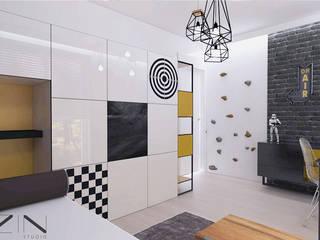 Chambre garçon de style  par ZIN Studio, Moderne
