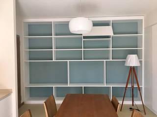 Ruang Keluarga Gaya Mediteran Oleh giulia pellegrino studio di progettazione Mediteran
