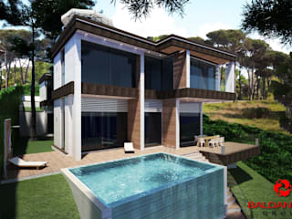 Modern houses by Baldantoni Group Modern