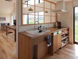さんかく屋根の家 モダンな キッチン の 株式会社 井川建築設計事務所 モダン
