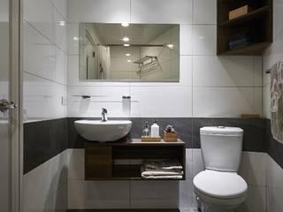 第宅空間設計 Baños de estilo moderno