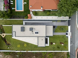 casa BL por HUGO MONTE | ARQUITECTO Minimalista