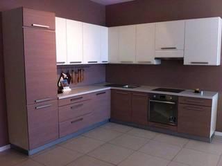 L-Shaped Modular Kitchen Designs In Ghaziabad, Noida & Greater Noida:   by Wallsfloor.com