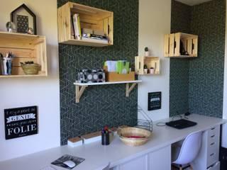 Décoration et aménagement d'un bureau - Gard: Bureau de style  par Kty.L Décoratrice d'intérieur UFDI
