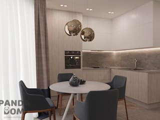 """Современная квартира в """"Виленском маентке"""". Modern appartment. Кухня в стиле модерн от дизайн-студия PandaDom Модерн"""