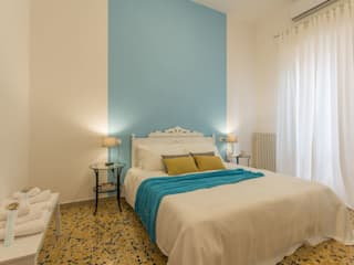 Anna Leone Architetto Home Stager Mediterranean style bedroom