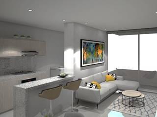 Salas modernas de Savignano Design Moderno