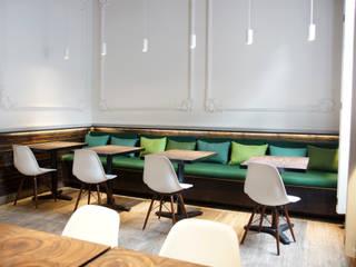 Colaboración Restaurante Fresh: Restaurantes de estilo  por Alameda Estudio