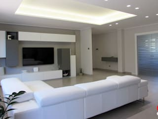 Modern living room by Emanuela Gallerani Architetto Modern