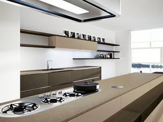 Cocinas italianas: Armarios de cocinas de estilo  por Santa Julia Diseños, Moderno