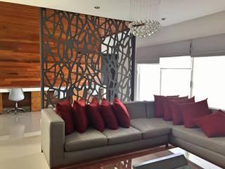 Home office: Estudios y oficinas de estilo  por IDÉ Proyectos