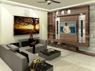 Residential 2:  Living room by Falcon Resources